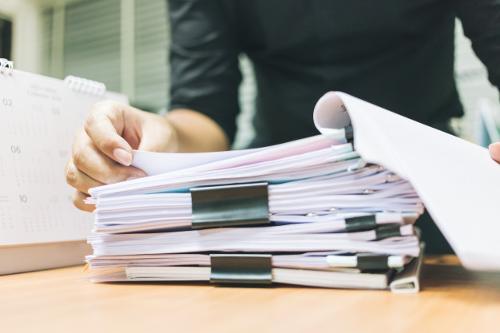 Classement et archivage papier