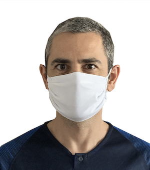 Masque en tissu réutilisable (fabrication France)