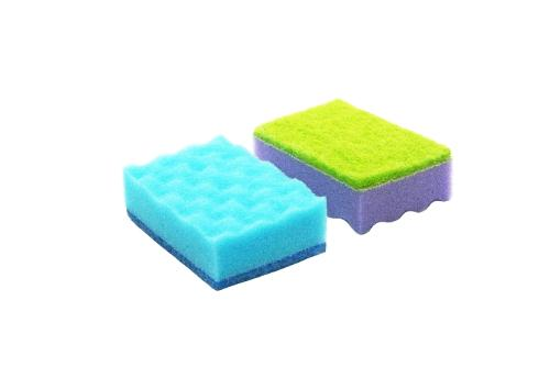 Kitchen cleaning scrub sponges
