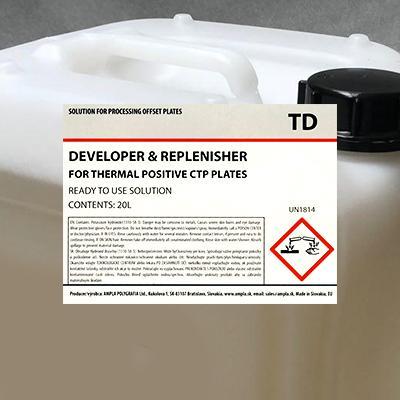 Ampla TD Developer (For Thermal Plates)