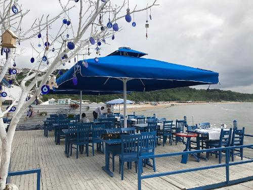 Cafe Restaurant Şemsiyeleri