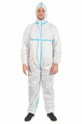 Protective Coverall Type: 3/4