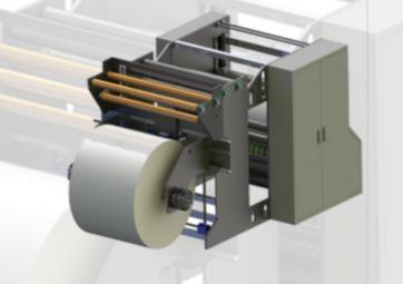 Jumbo Kağıt Bobin Dilimleme Makinesi