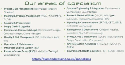 Our Services & Specialisms