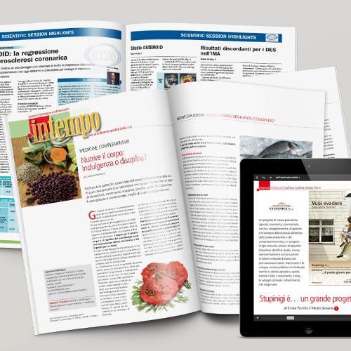 Riviste, report di congressi, pubblicazioni scientifiche