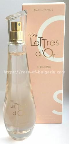 Parfum mes lettres d'Or Rbg Paris
