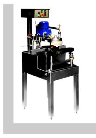 Verschießmaschine für Gläser und Flaschen