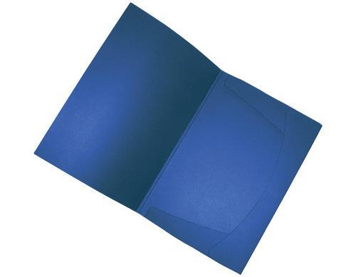 Angebotsmappe A4 - stahlblau