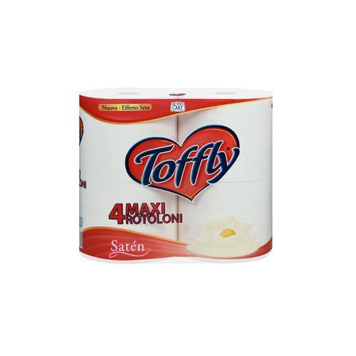 Carta Igienica Toffly Satén
