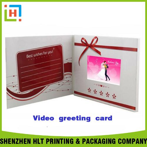 video greeting card