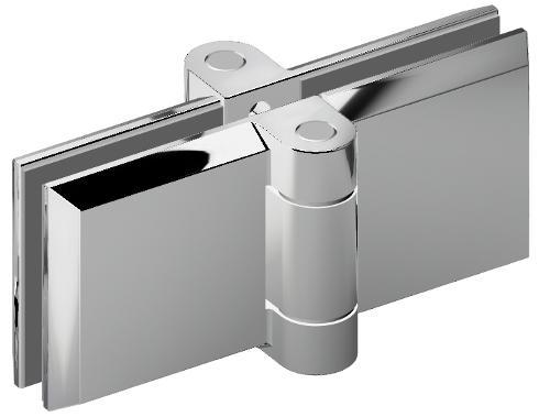 Serie B-Fold shower hinge
