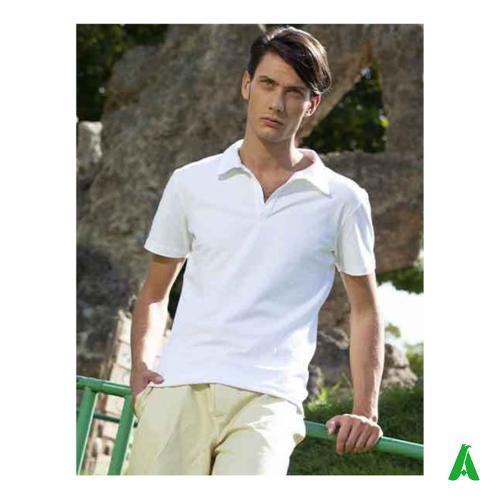 Polo Made in Italy per uomo, tessuto di qualita'