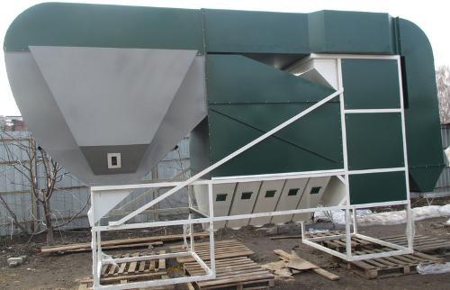 Зерновой сепаратор ИСМ-150 с ЦОК