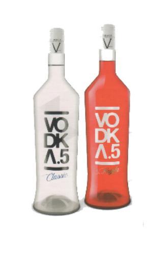 VODKA CLASSIC °5 - VODKA & FRAGOLA °5