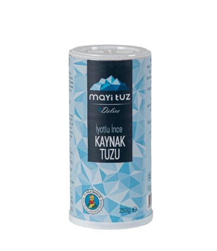 İyotlu ince kaynak tuzu 250gr (tuzluklu)