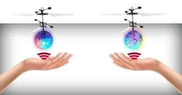 Trend: LED Magic Flying Helikopter Ball - Infrarot