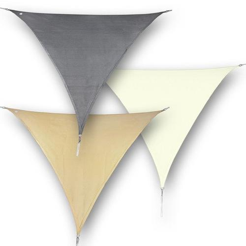 hanSe® Marken Sonnensegel 100% Polyester Dreieck...
