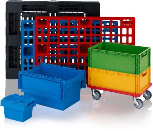 Plastic Pallets, Euro Containers, Pallets Boxes & More.