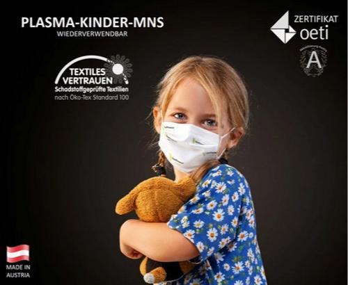 Mehrweg Plasma-Mund-Nasen Masken für Kinder
