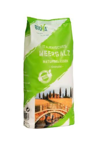 1 kg Italian sea salt granulate   1,6-4,0 mm  