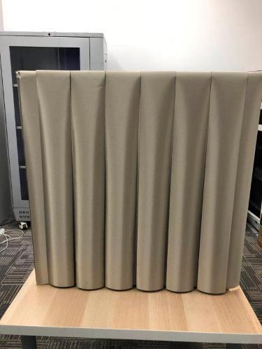 RFID/EMI shielding curtain