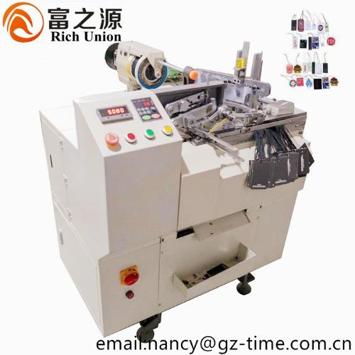 Automatic Tag Threading Machine