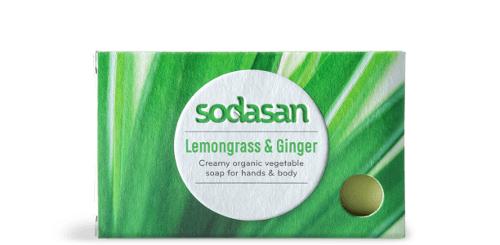 Sodasan Bar Soap Lemongrass & Ginger