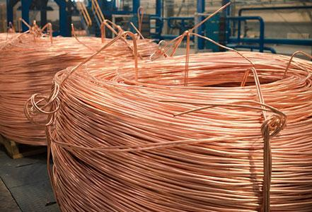 Copper rods (grade KMOР)