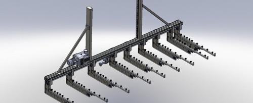 Automatisierungstechnik Portalanlagen und Handlingsanlagen