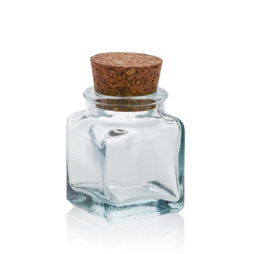 24 Mini Square jars 30 ml