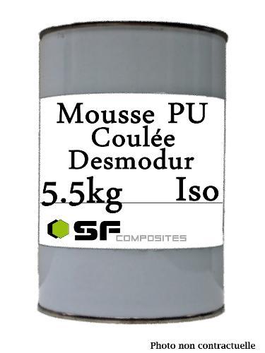 MOUSSE PU DESMODUR ISO 5.5KG