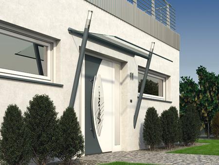 installateur de auvents et marquises pour portes d'entrée