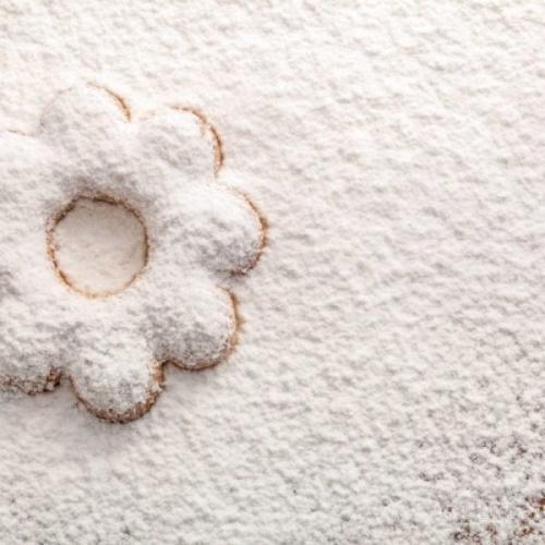 Sugar non-melting powder