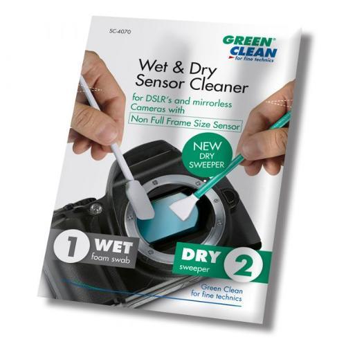"""Wet & Dry Sensor Cleaner """"non full frame size"""" (16 mm)"""