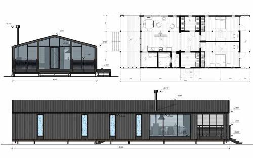 Модульный дом DUBLHAUS  110