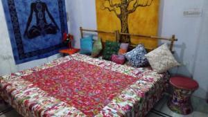 Handmade Kantha reversible quilts