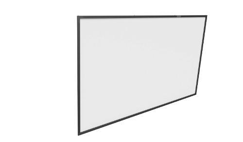 Grand écran tendu sur cadre très rigide