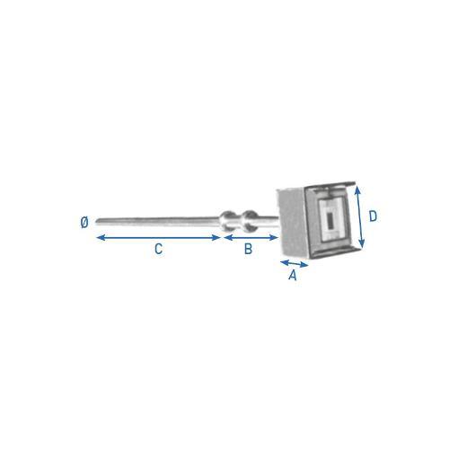 Canne De Régulation Thermique 50 Monocuve-316
