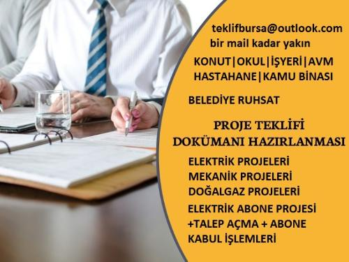 Elektrik Tesisat Ruhsat ve Uygulama Projesi