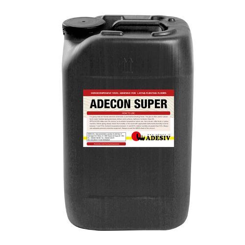 Adecon Super Collante Vinilico Trasparente Ad Alto Potere Adesivo Presa Rapida