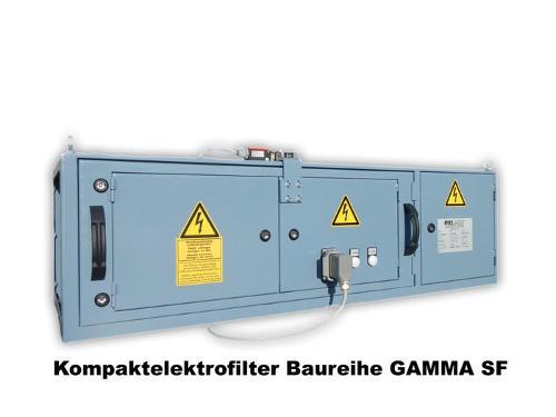 Kompaktelektrofilter Baureiche GAMMA SF