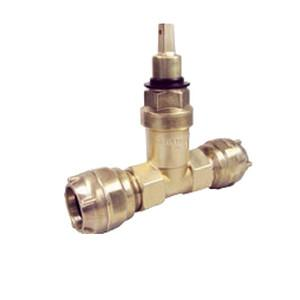 Gate valve with plug-in connector