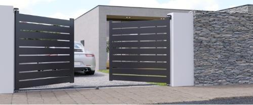 Instalação e Montagem Portões de Alumínio