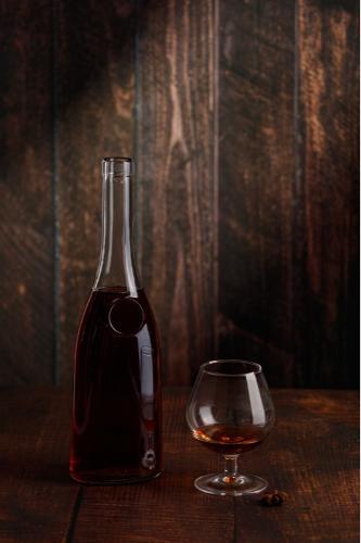 Flasche farbloses Glas 50 cl