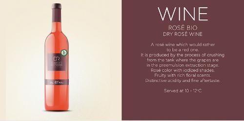 Rose Dry Wine Bio DR Ambrosia