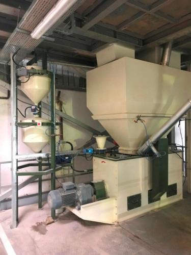 Mélangeur Industriel pour Aliments de Bétails et Volailles