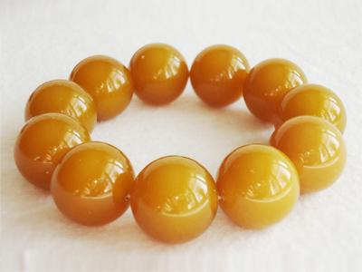 Beeswax, Amber bracelets