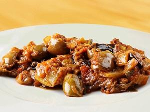 Caponata alla siciliana con peperoni