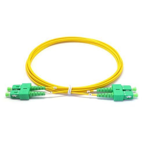 Duplex Singlemode G657a1 3.0*6.0mm Zip-cord Fiber Optic Patch Cable Lszh Yl