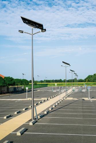 lampadaire solaire à LED 5-10m